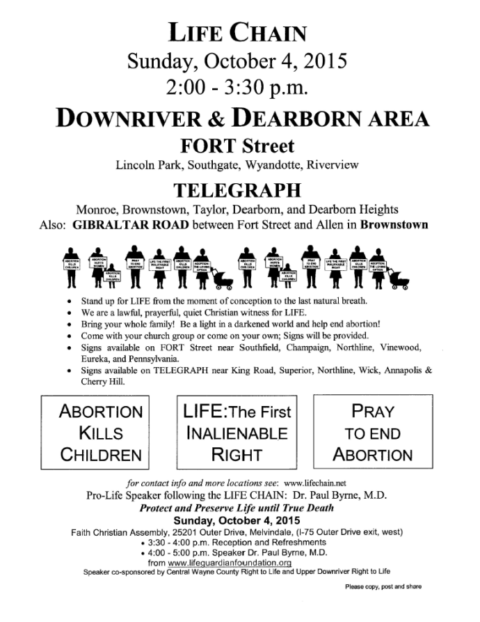 downriverlifechainsunday2015